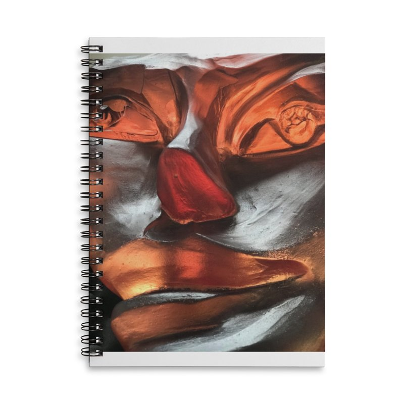 Rhubarb- Igor Josifov Accessories Notebook by Equity International - Arts & Culture's Artist Sho