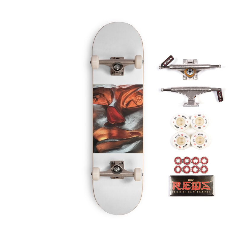 Rhubarb- Igor Josifov Accessories Skateboard by Equity International - Arts & Culture's Artist Sho