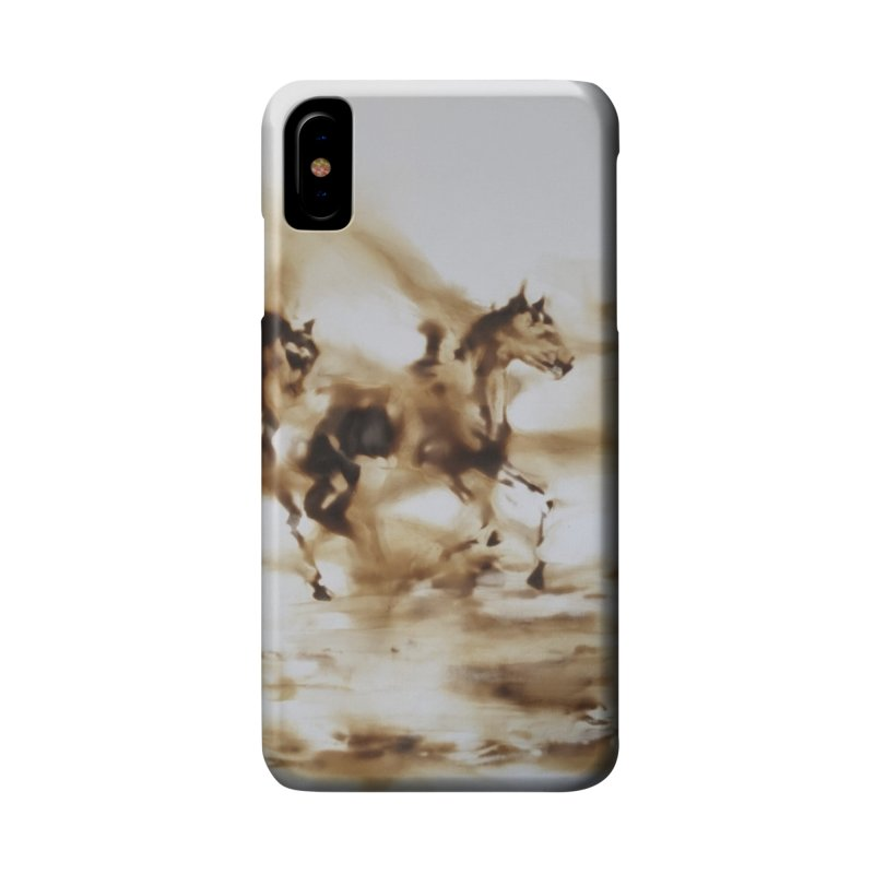 Racing Away - Horses Accessories Phone Case by Equity International - Arts & Culture's Artist Sho