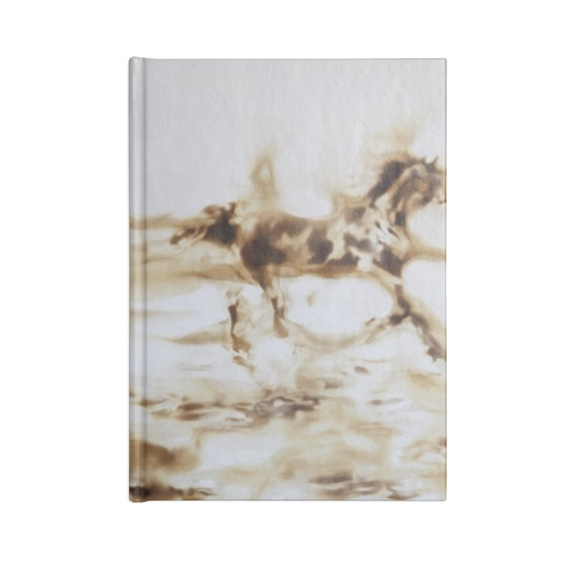 Racing Away - Horses Accessories Notebook by Equity International - Arts & Culture's Artist Sho