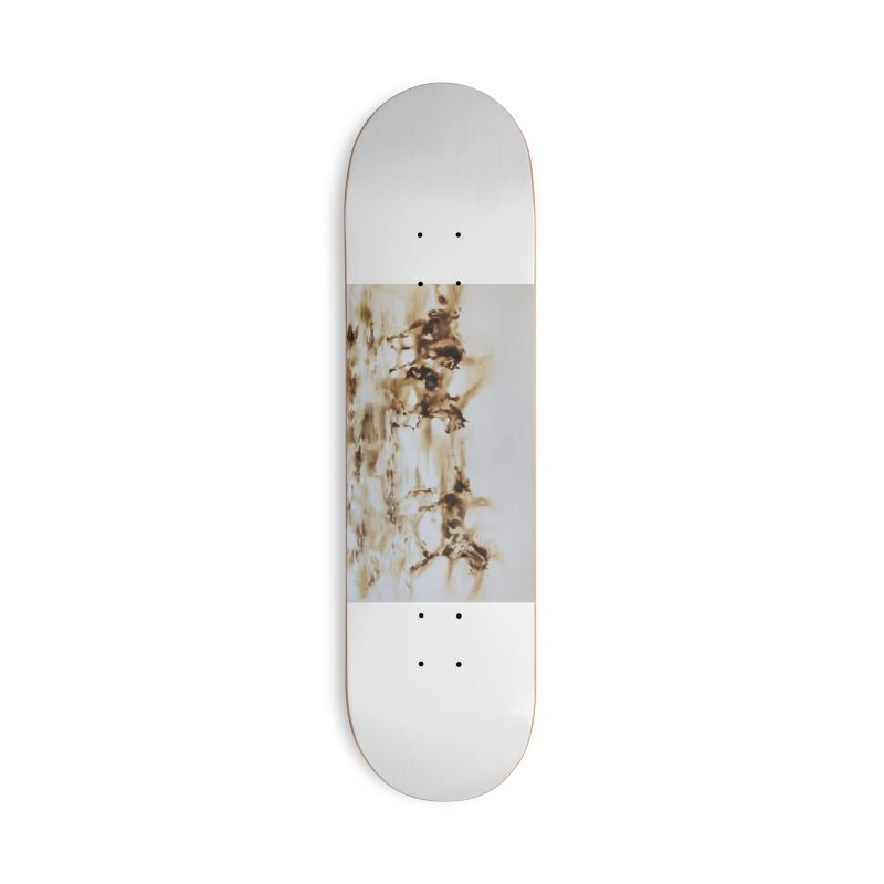 Racing Away - Horses Accessories Skateboard by Equity International - Arts & Culture's Artist Sho