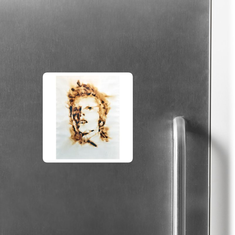 David Bowie by Igor Josifov Accessories Magnet by Equity International - Arts & Culture's Artist Sho