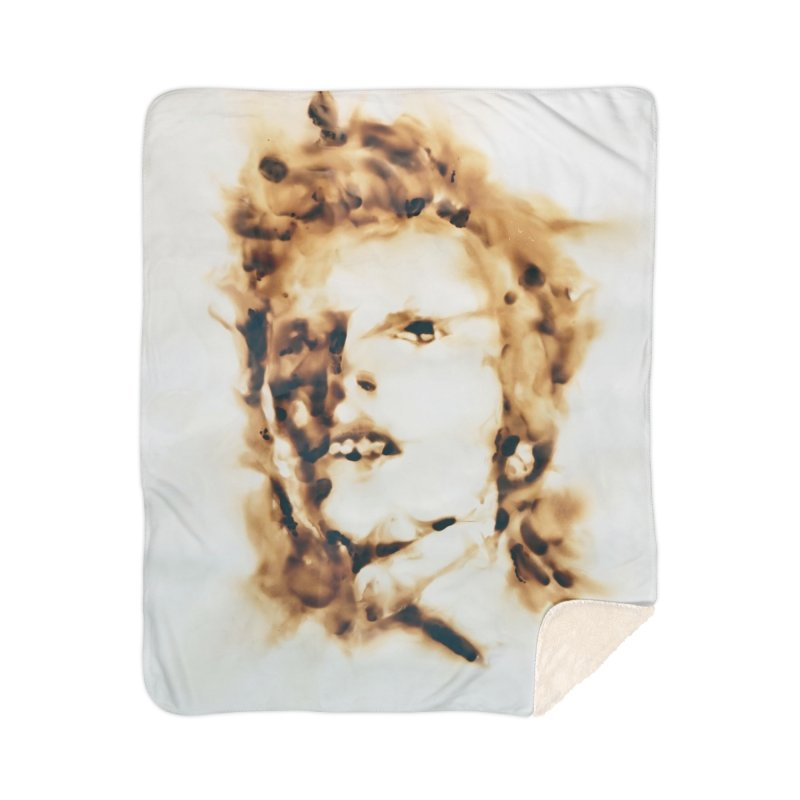 David Bowie by Igor Josifov Home Blanket by Equity International - Arts & Culture's Artist Sho