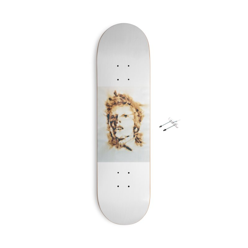 David Bowie by Igor Josifov Accessories Skateboard by Equity International - Arts & Culture's Artist Sho