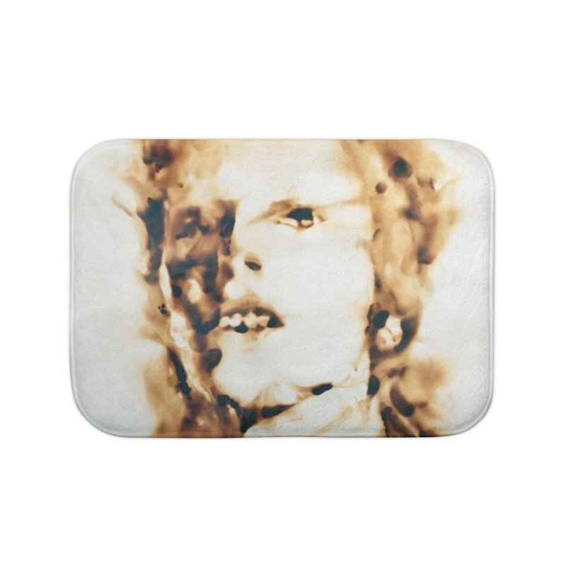 David Bowie by Igor Josifov Home Bath Mat by Equity International - Arts & Culture's Artist Sho