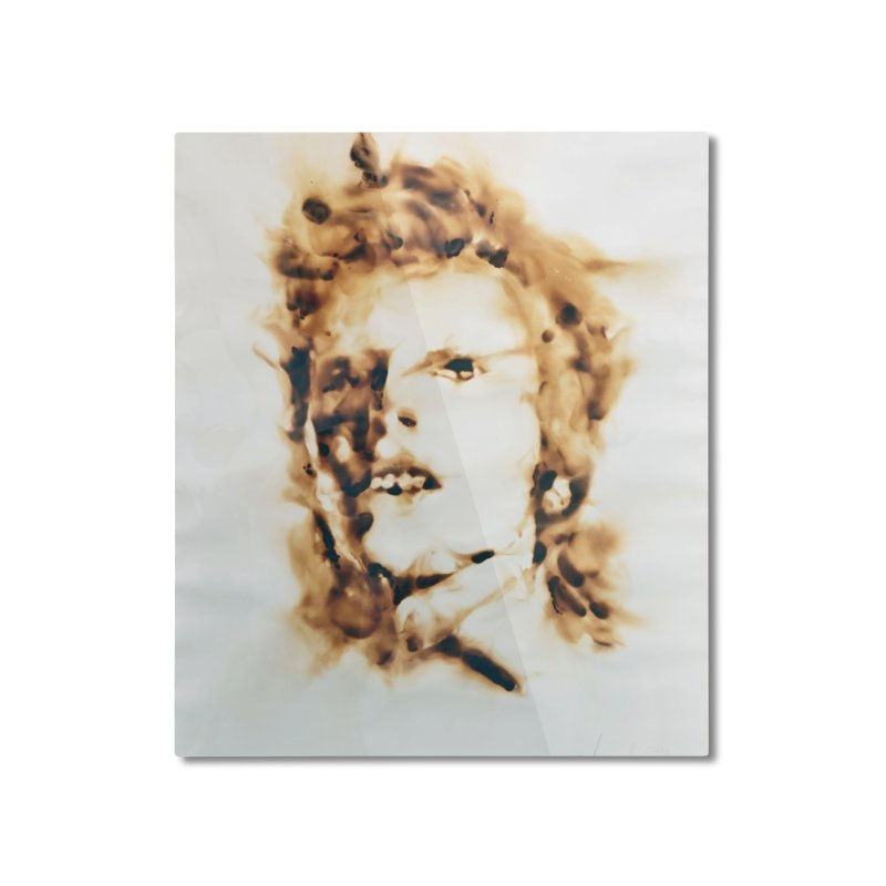 David Bowie by Igor Josifov Home Mounted Aluminum Print by Equity International - Arts & Culture's Artist Sho