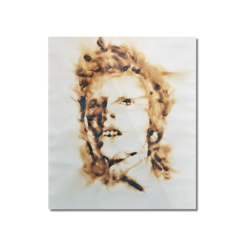 David Bowie by Igor Josifov Home Mounted Acrylic Print by Equity International - Arts & Culture's Artist Sho