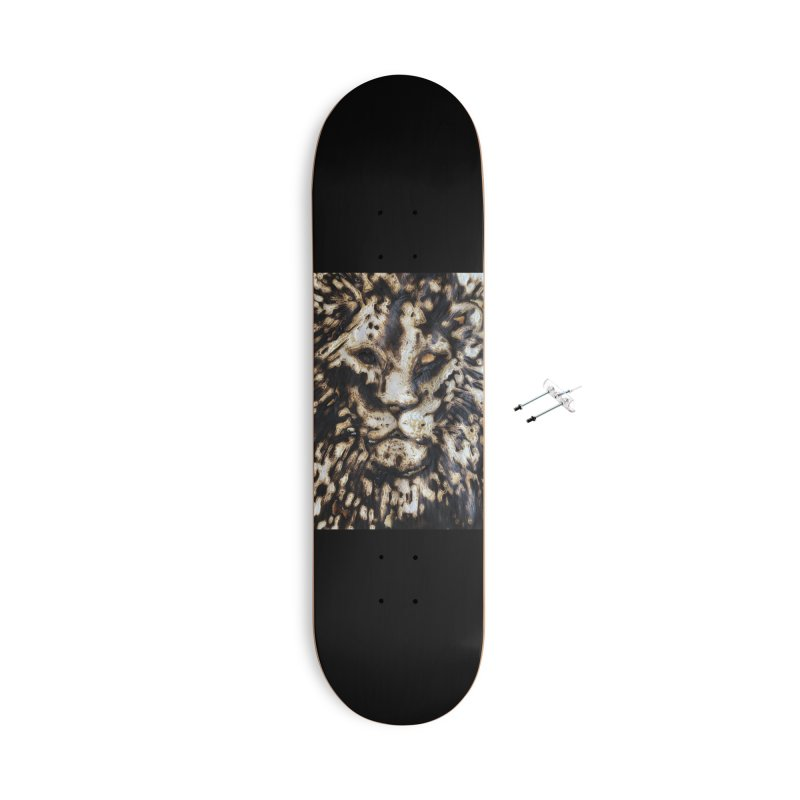 Lion - Igor Josifov Accessories Skateboard by Equity International - Arts & Culture's Artist Sho