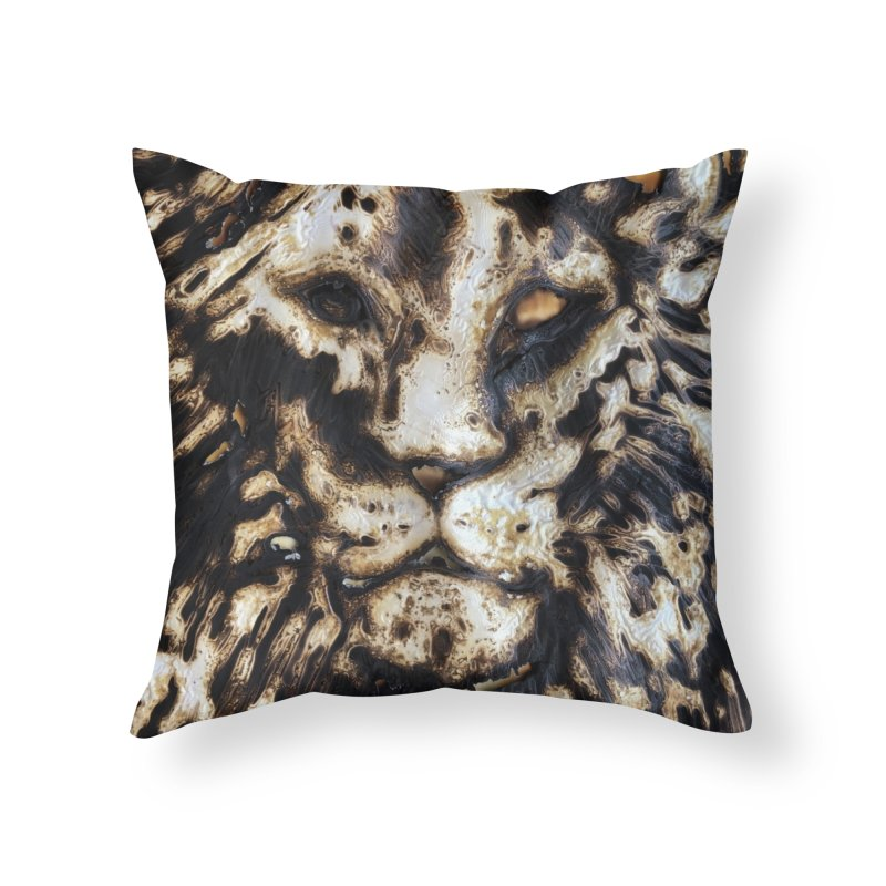 Lion - Igor Josifov Home Throw Pillow by Equity International - Arts & Culture's Artist Sho