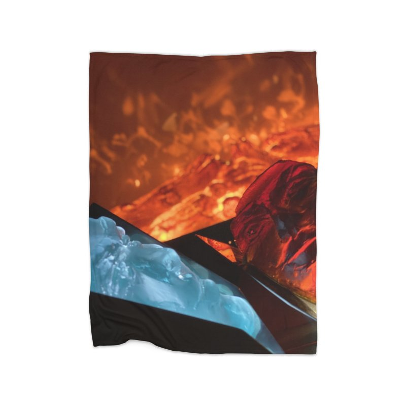 the magic of fire Home Blanket by Equity International - Arts & Culture's Artist Sho