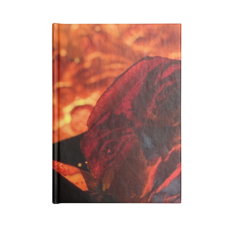 the magic of fire Accessories Notebook by Equity International - Arts & Culture's Artist Sho