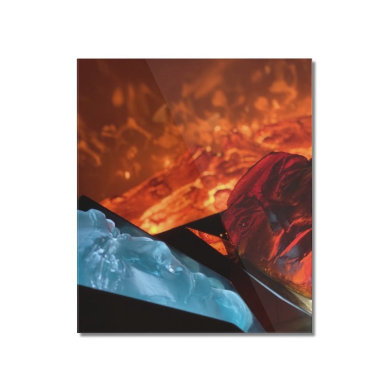 the magic of fire Home Mounted Acrylic Print by Equity International - Arts & Culture's Artist Sho