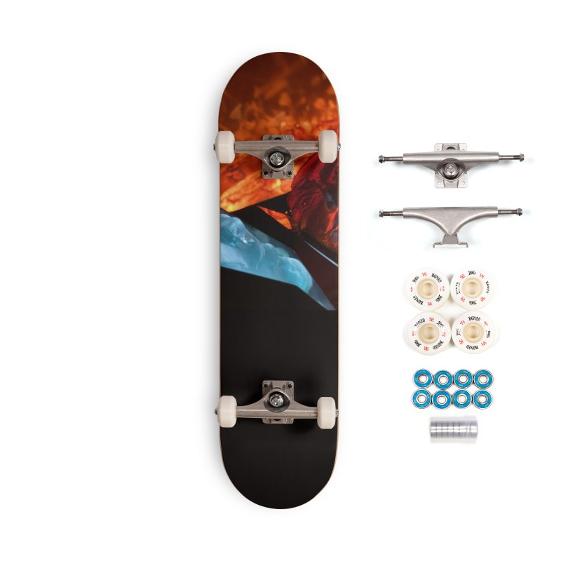 the magic of fire Accessories Skateboard by Equity International - Arts & Culture's Artist Sho