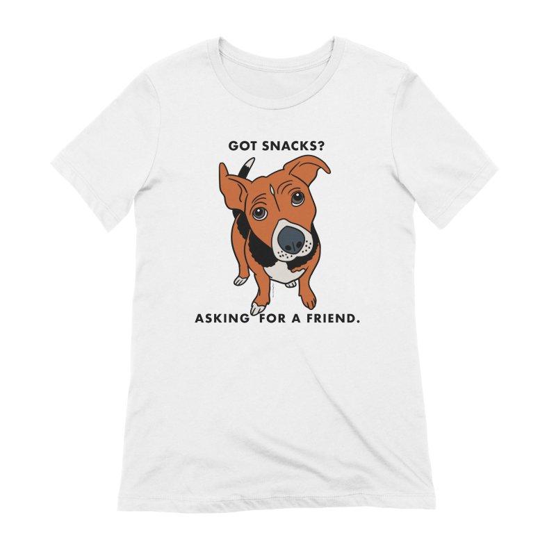 Harriet-GOT SNACKS? Women's T-Shirt by EricScott's Artist Shop