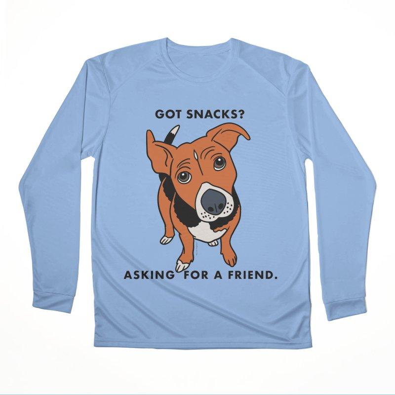 Harriet-GOT SNACKS? Men's Performance Longsleeve T-Shirt by EricScott's Artist Shop