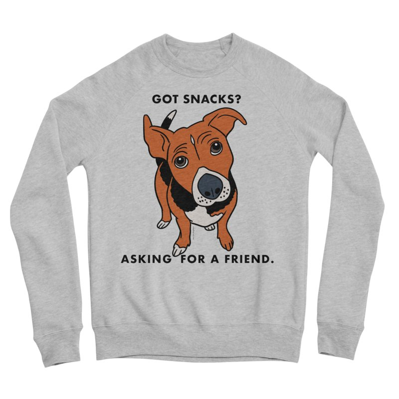 Harriet-GOT SNACKS? Women's Sponge Fleece Sweatshirt by EricScott's Artist Shop