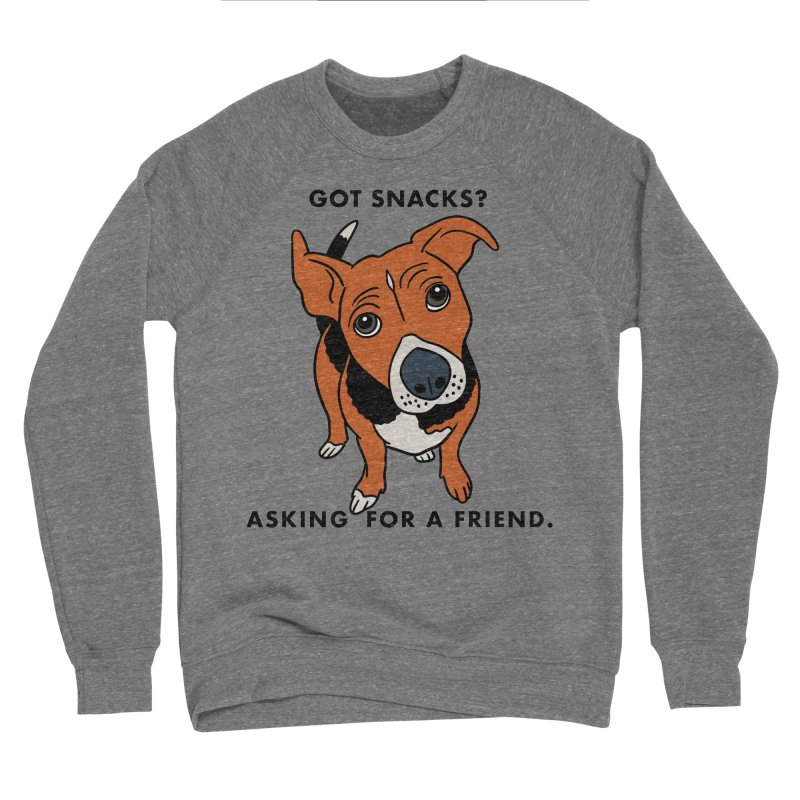 Harriet-GOT SNACKS? Men's Sweatshirt by EricScott's Artist Shop