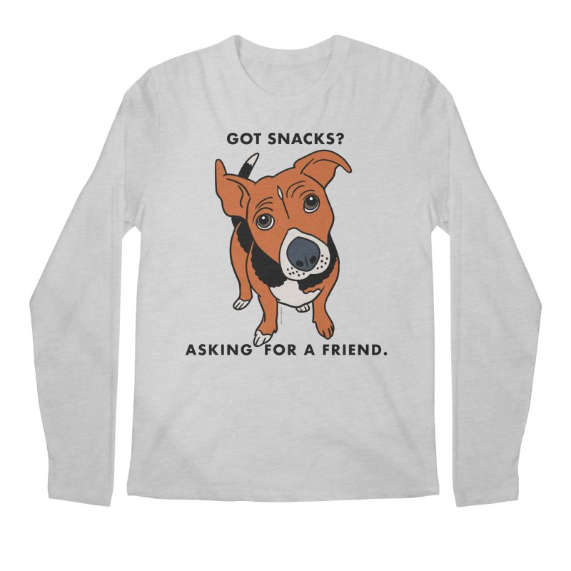 Harriet-GOT SNACKS? Men's Longsleeve T-Shirt by EricScott's Artist Shop