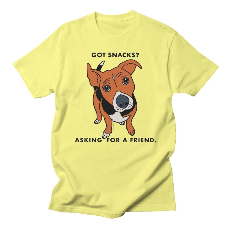 Harriet-GOT SNACKS? Men's T-Shirt by EricScott's Artist Shop