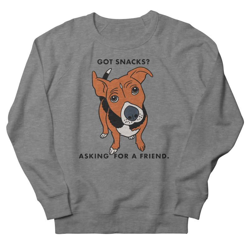 Harriet-GOT SNACKS? Women's French Terry Sweatshirt by EricScott's Artist Shop