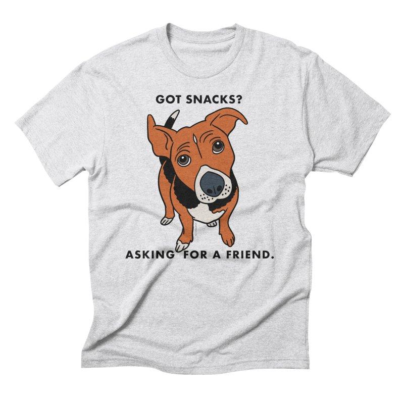 Harriet-GOT SNACKS? Men's Triblend T-Shirt by EricScott's Artist Shop