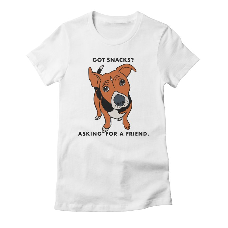 Harriet-GOT SNACKS? Women's Fitted T-Shirt by EricScott's Artist Shop
