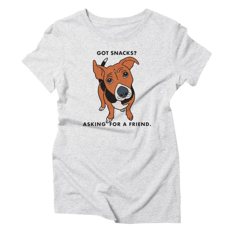 Harriet-GOT SNACKS? Women's Triblend T-Shirt by EricScott's Artist Shop