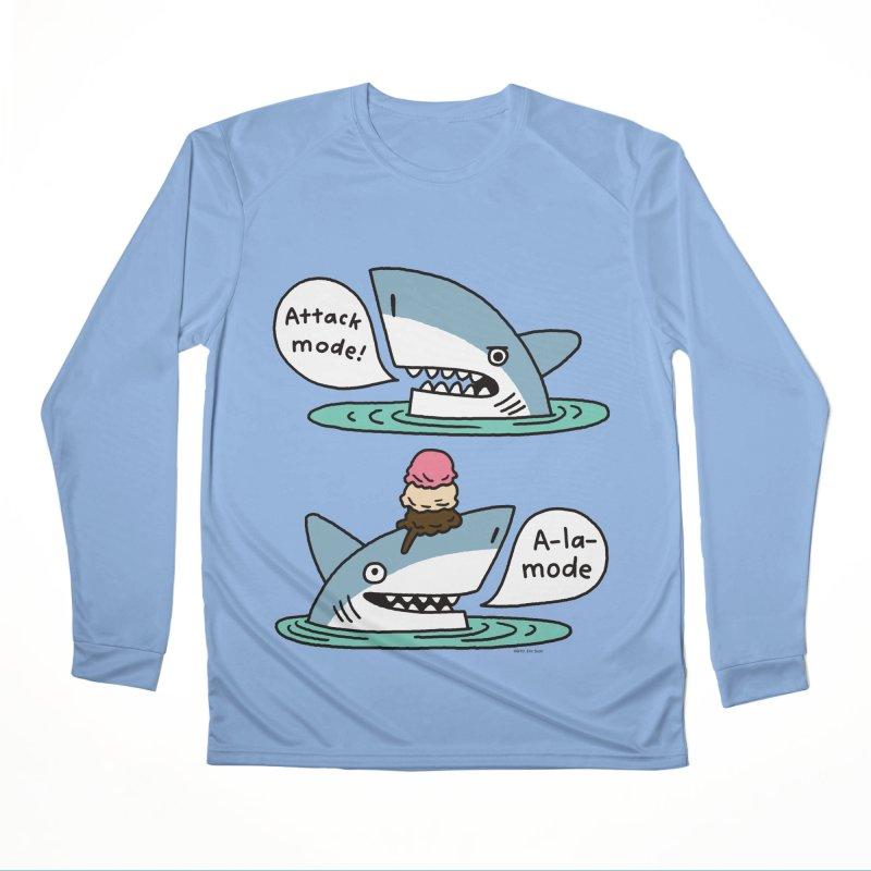 Al-A-Mode shark Men's Performance Longsleeve T-Shirt by EricScott's Artist Shop