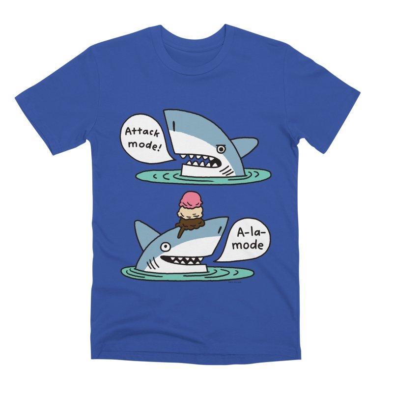 Al-A-Mode shark Men's T-Shirt by EricScott's Artist Shop