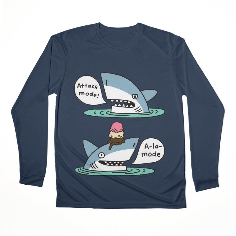 Al-A-Mode shark Women's Performance Unisex Longsleeve T-Shirt by EricScott's Artist Shop
