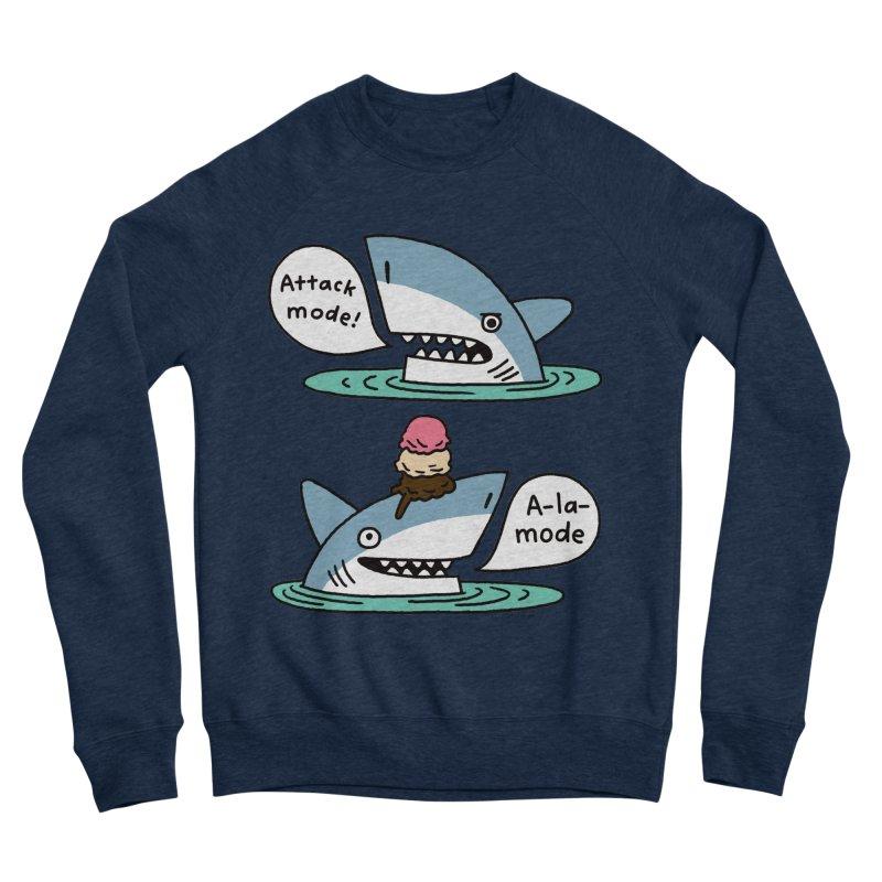 Al-A-Mode shark Men's Sweatshirt by EricScott's Artist Shop