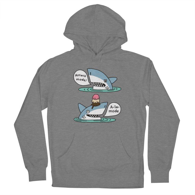 Al-A-Mode shark Women's Pullover Hoody by EricScott's Artist Shop