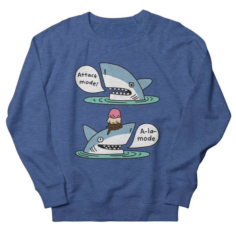 Al-A-Mode shark Women's Sweatshirt by EricScott's Artist Shop