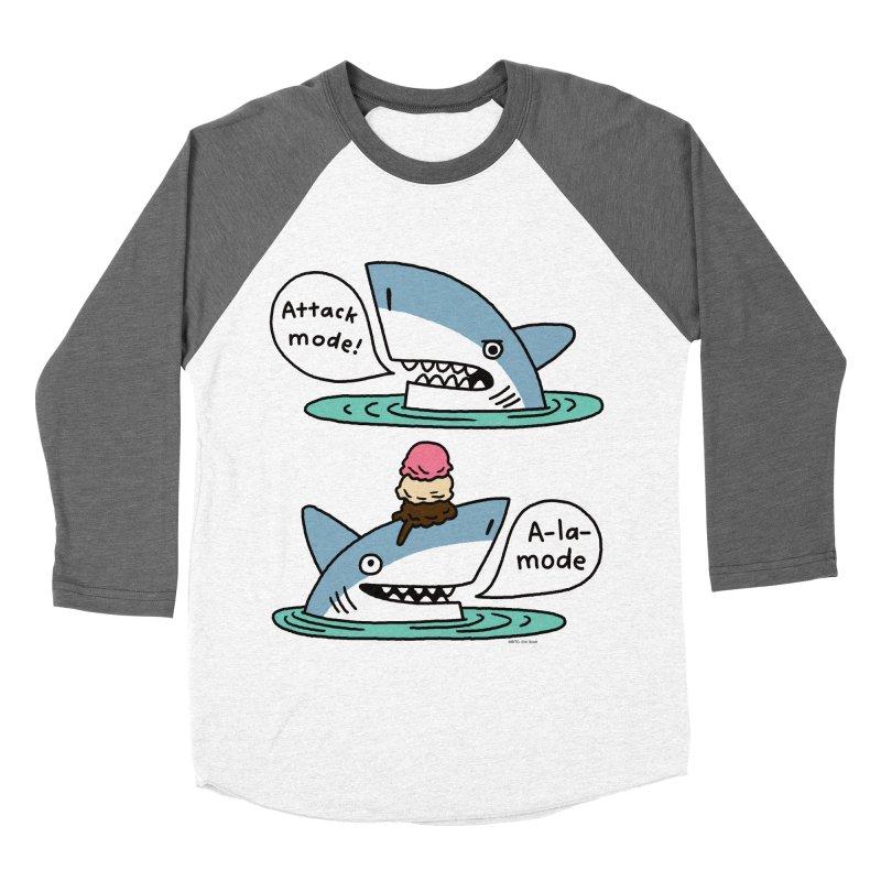 Al-A-Mode shark Men's Baseball Triblend Longsleeve T-Shirt by EricScott's Artist Shop