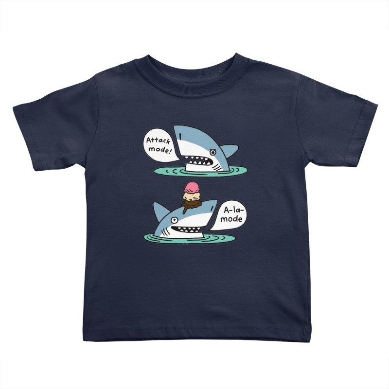 Al-A-Mode shark Kids Toddler T-Shirt by EricScott's Artist Shop