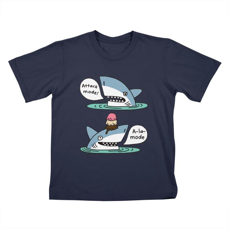 Al-A-Mode shark Kids T-Shirt by EricScott's Artist Shop