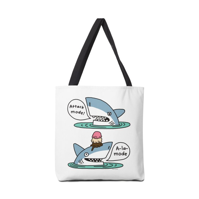 Al-A-Mode shark Accessories Tote Bag Bag by EricScott's Artist Shop