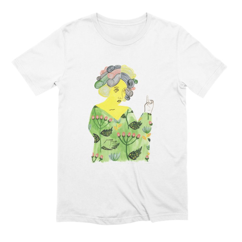 Painted Lady 40 in Men's Extra Soft T-Shirt White by Erika Rier Art