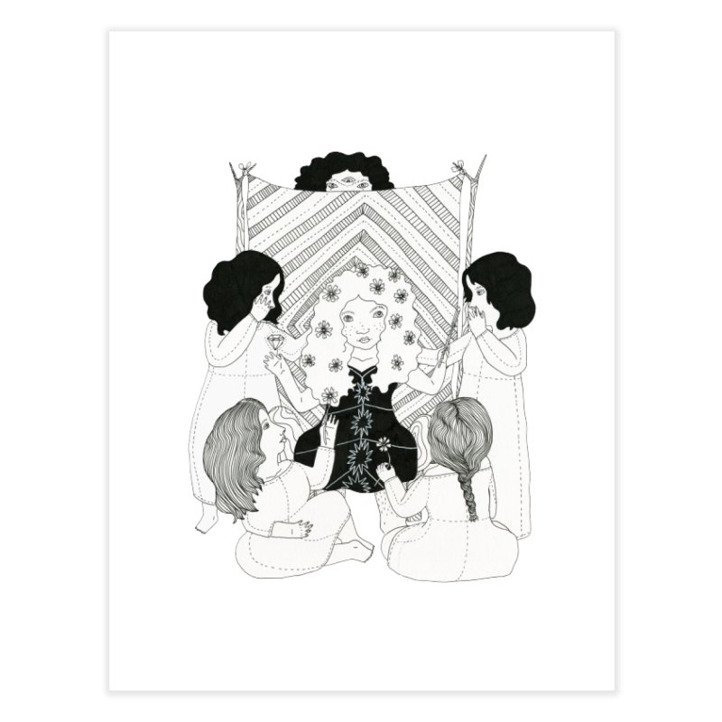Ritual Magick Home Fine Art Print by Erika Rier Art