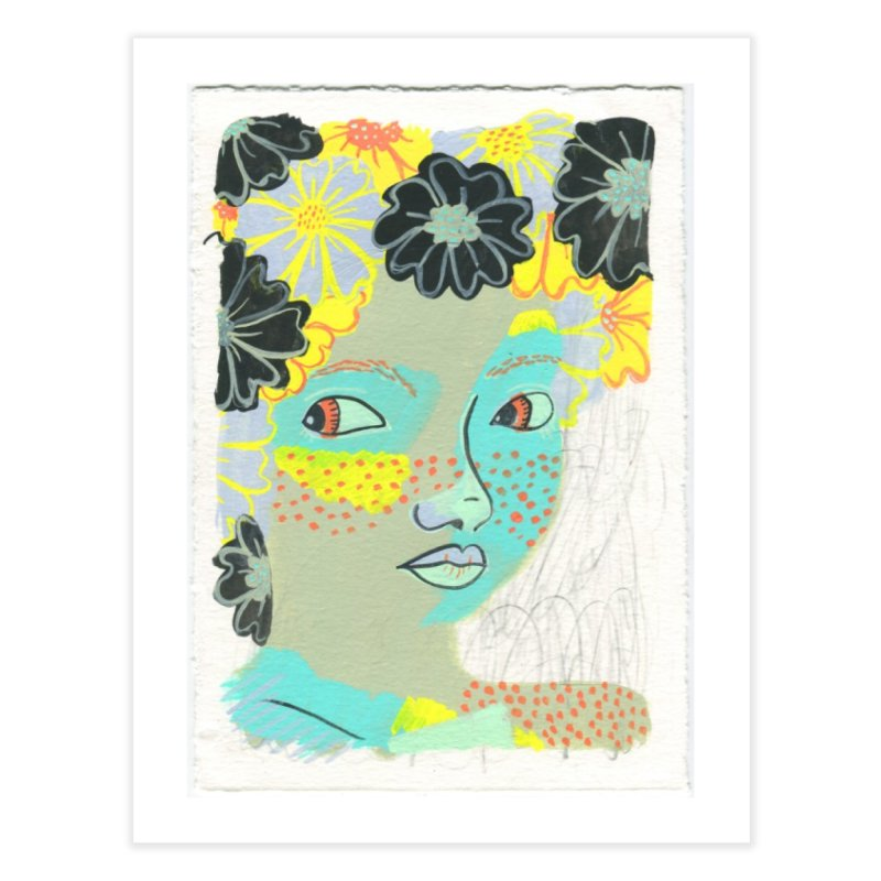 Painted Lady Day 2 in Fine Art Print by Erika Rier Art