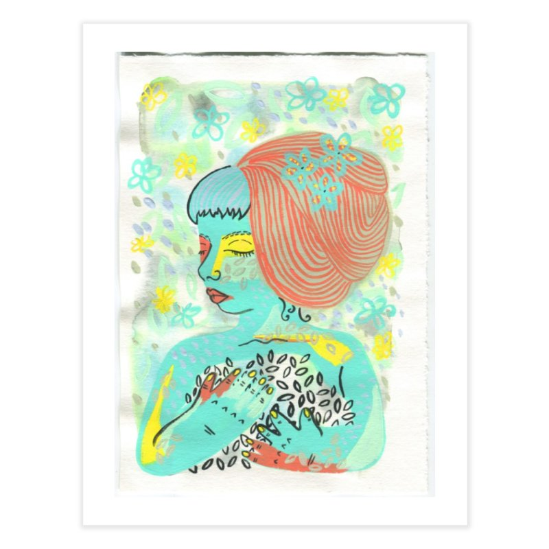 Painted Lady 3 in Fine Art Print by Erika Rier Art