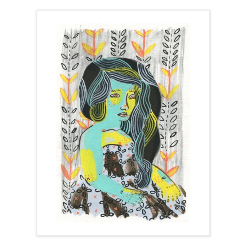 Painted Lady 6 in Fine Art Print by Erika Rier Art