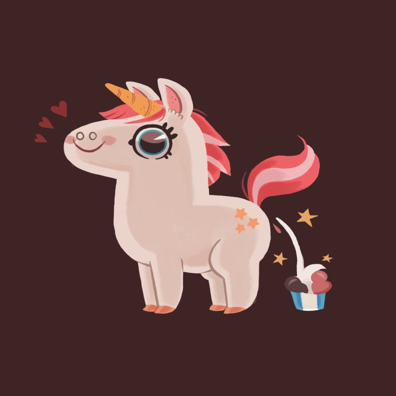 Neapolitan Unicorn None  by ErinHunting's Artist Shop