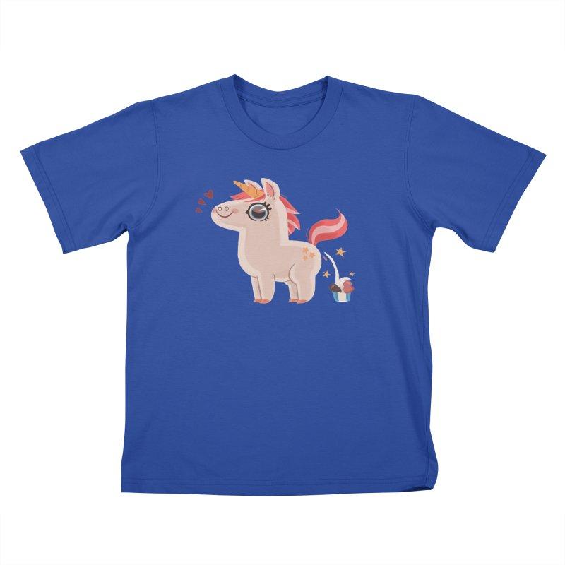 Neapolitan Unicorn Kids T-shirt by ErinHunting's Artist Shop