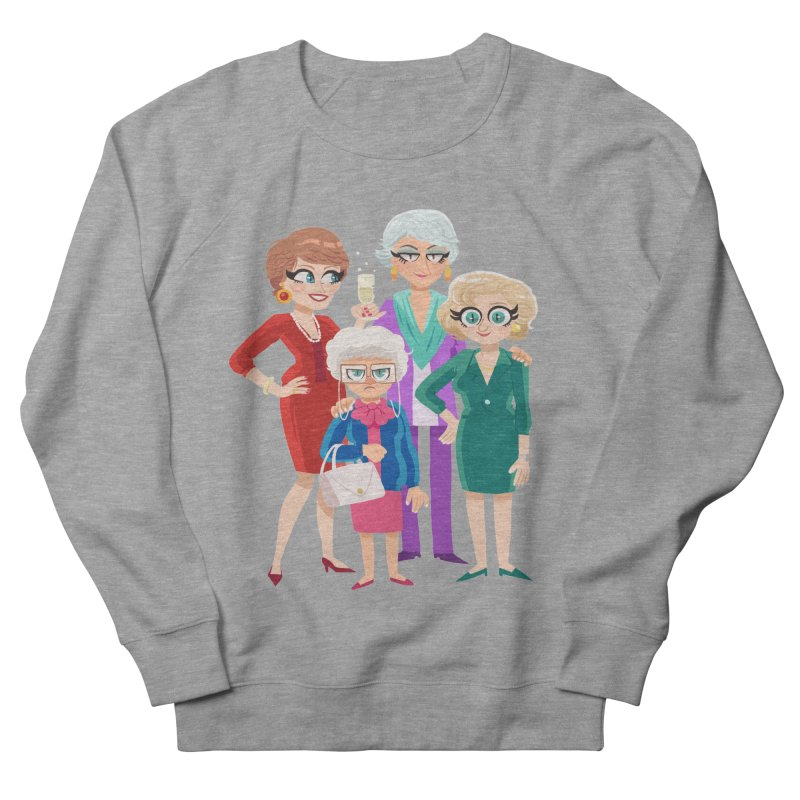 Golden Girls Men's Sweatshirt by ErinHunting's Artist Shop