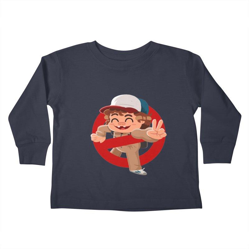 Stranger Things Two Kids Toddler Longsleeve T-Shirt by ErinHunting's Artist Shop