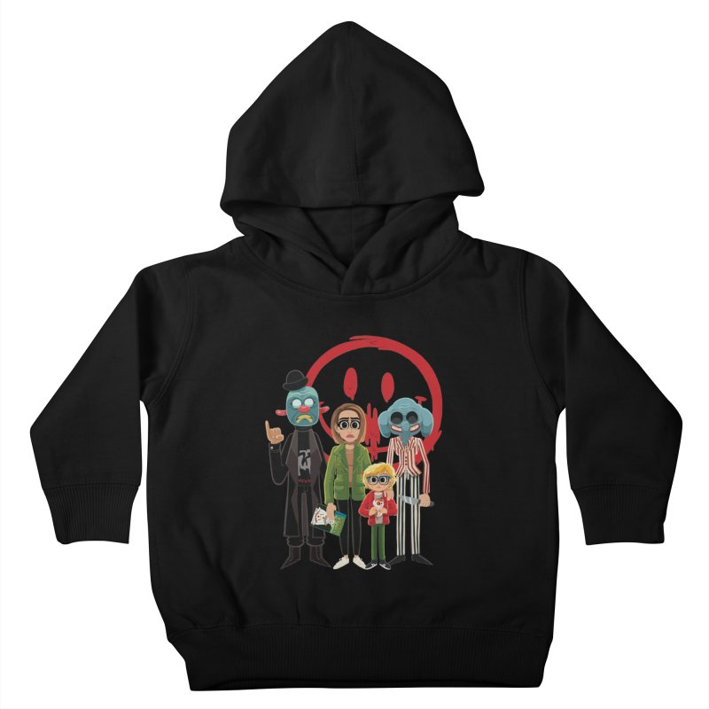 Cult Kids Toddler Pullover Hoody by ErinHunting's Artist Shop