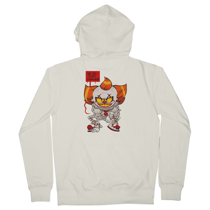 Pennywise Women's Zip-Up Hoody by ErinHunting's Artist Shop