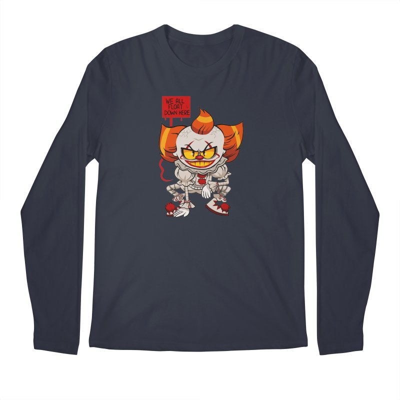 Pennywise Men's Longsleeve T-Shirt by ErinHunting's Artist Shop