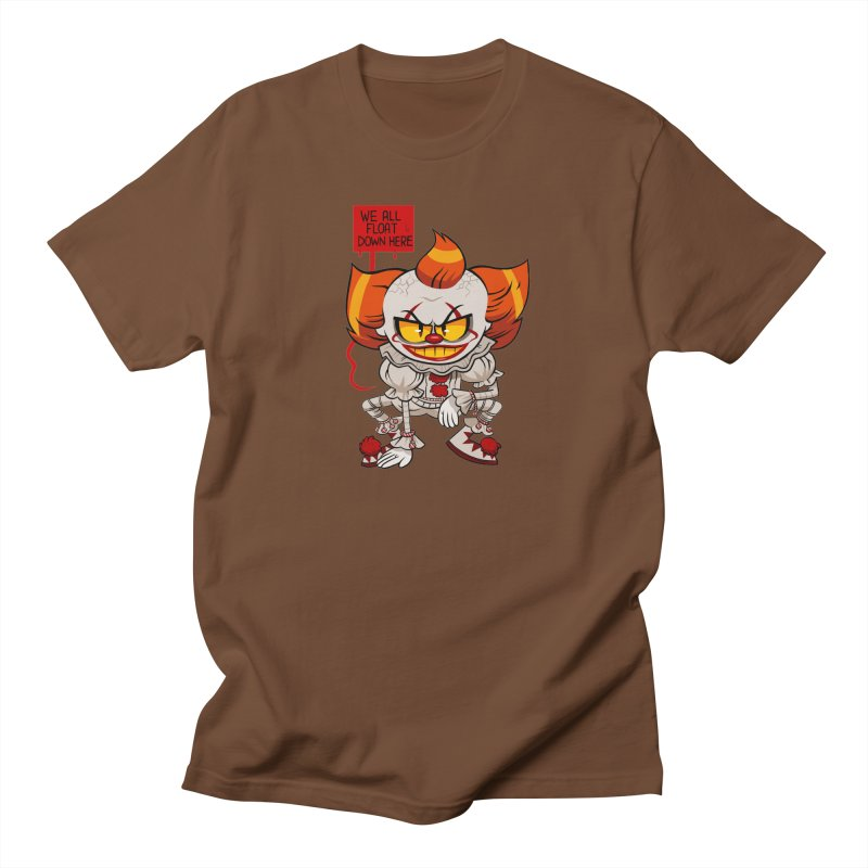 Pennywise Men's T-Shirt by ErinHunting's Artist Shop